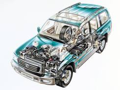 Toyota Land Cruiser. UZJ100L, 2UZFE