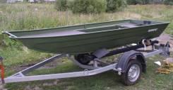 Rusboat. Год: 2016 год, длина 3,90м., двигатель подвесной, 15,00л.с., бензин. Под заказ