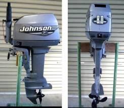 Johnson. 8,00л.с., 2х тактный, бензин, нога S (381 мм), Год: 2007 год. Под заказ