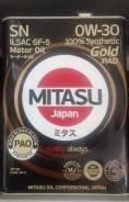 Mitasu. Вязкость 0W-30, синтетическое