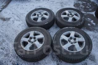 Продам комплект колес, возможна отправка. 6.0x16 5x114.30 ET46 ЦО 65,0мм.