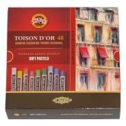 """Пастель сухая, Koh-I-noor, """"Toison Dior"""", 48 цветов"""
