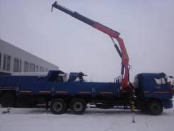 Камаз 65117. с КМУ Palfinger 23500A, 6 700 куб. см., 14 500 кг.