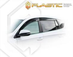 Ветровики дверей Classic полупрозрачный Toyota Rav4 2013–н.в.