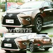 Обвес кузова аэродинамический. Toyota RAV4, ZSA42L, ASA44L, ASA44, ZSA44L