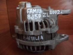 Генератор. Mazda Ford Festiva Mini Wagon, DW5WF, DW3WF Mazda Familia, BJ5W, BJ5P, DW3W, DW5W Mazda Demio, DW3W, DW5W Двигатели: ZLVE, ZL, ZLDE, B3E, B...
