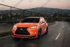 Обвес кузова аэродинамический. Lexus NX200