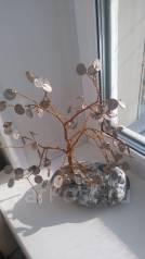 Денежное деревце бонсаи отличный подарок к Новому году!