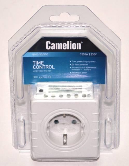 Таймер camelion bnd 50 sg65 инструкция