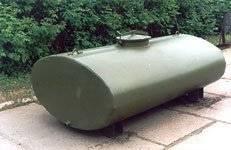 Емкость 5500 литров с автоцистерны Ац -5 урал 375. Под заказ