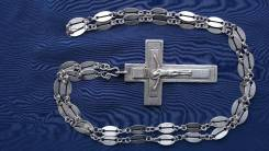 Наградной наперсный протоиерейский крест. Москва, 1895-1897 гг. Оригинал
