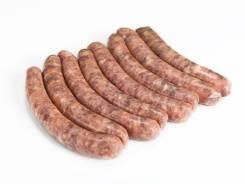 Колбаски Деликатесные говяжьи, для жарки, замороженные, вакуум, уп.,~ 600гр