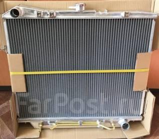 Радиатор охлаждения двигателя. Isuzu Bighorn, UBS69GW, UBS73GW, UBS69DW, UBS73DW