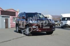 Обвес кузова аэродинамический. Toyota Land Cruiser, VDJ200, URJ200 Двигатели: 3URFE, 1VDFTV. Под заказ из Владивостока