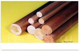 Продаём Текстолит стержневой диам. 25,30,40,50,100 и 120 мм.