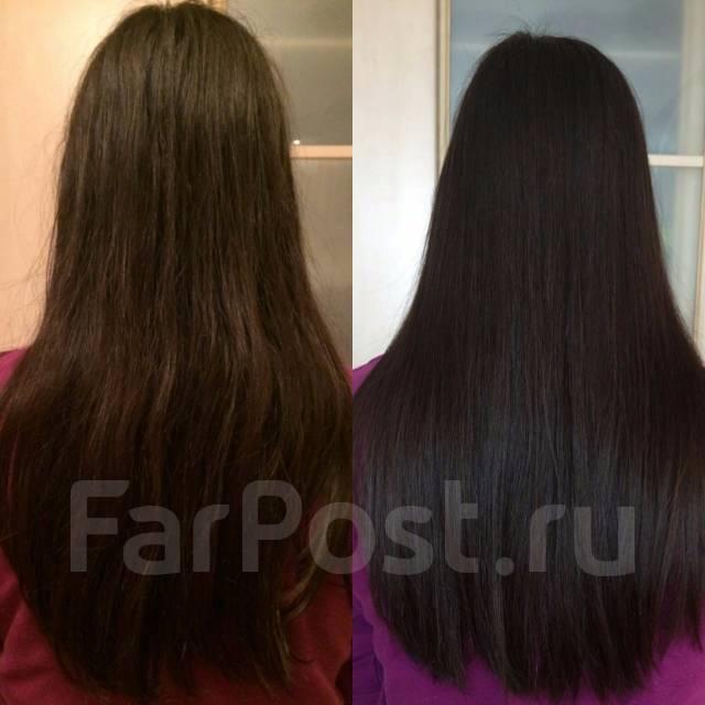 кератиновое выпрямление волос при выпадении