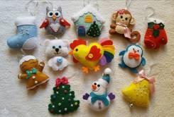Елочные игрушки. Под заказ
