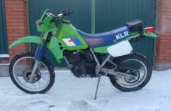 Kawasaki KLR 250. 250 куб. см., исправен, птс, без пробега