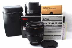 Продам объектив Sigma EX 85 mm F/1.4 HSM EX DG для Nikon. Для Nikon, диаметр фильтра 77 мм. Под заказ