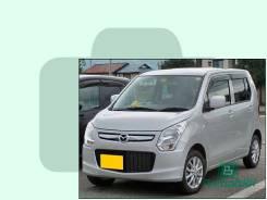 Лобовое стекло Mazda FLAIR 2012- (MJ34)RHD окно/датчик 1243*887* (Зеленоватый оттенок, атермальное, Бpeнд:Benson)