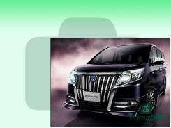 Лобовое стекло Toyota ESQUIRE 2014- (R80)RHD (Зеленоватый оттенок с зеленым козырьком, Бренд:ВSG)