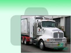 Лобовое стекло Peterbilt T-ser Truck 1997- (Т604-Цельное) 1637*685*1661 (Зеленоватый оттенок с зеленым козырьком, Бренд:ВSG)