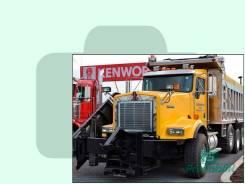 Лобовое стекло Kenworth C-ser Truck 2006- (C500- ) 1627*591* (Зеленоватый оттенок, Бpeнд:Benson)