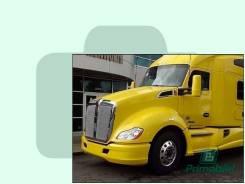 Лобовое стекло Kenworth T-ser Truck 2012- (T680) 1862*820* молд. (Зеленоватый оттенок, Бpeнд:Benson)