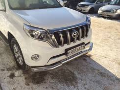 Кенгурятники. Toyota Land Cruiser Prado