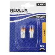 Комплект оранжевых ламп Neolux LED T10 W5W NT10YL 2000K 2шт. Lexus: IS350, IS300, LFA, ES250, RX330, RX350, LS460, IS250, LX450, IS200, GS460, LS600h...