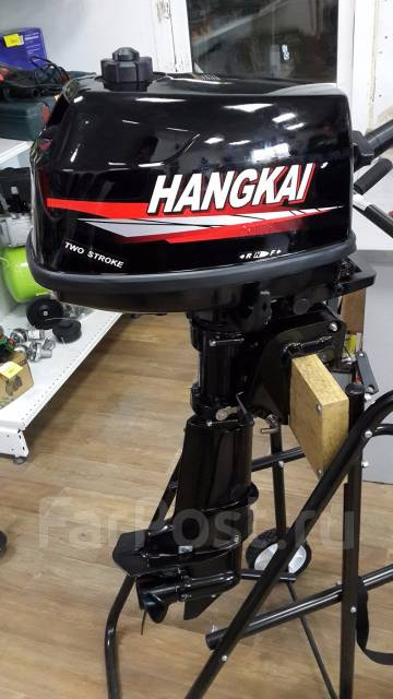 Hangkai. 6,00л.с., 2-тактный, бензиновый, нога S (381 мм), 2018 год год