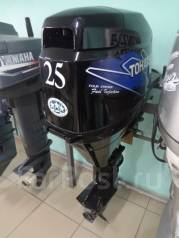 Tohatsu. 25,00л.с., 4-тактный, бензиновый, нога S (381 мм), Год: 2005 год