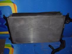 Радиатор охлаждения двигателя. Volkswagen Passat, 3B6