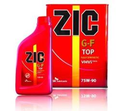 ZIC XQ TOP. Вязкость 75W-90, синтетическое