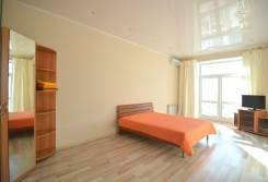1-комнатная, улица Запарина 25. Центральный, 46 кв.м.