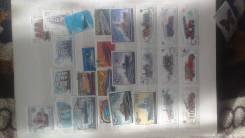Продам три альбома почтовых марок, всякие разные марки