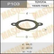 Прокладка термостата. Toyota: Lite Ace, Corona, Ipsum, Avensis, Sprinter Trueno, Corolla, Tercel, Dyna, Raum, Stout, Sprinter, Vista, Caldina, Sprinte...