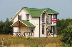 Новый дом с коммуникациями, у озера. Ярославское шоссе, 148 км. от МКАД, р-н Ярославский, площадь дома 150 кв.м., скважина, электричество 15 кВт, от...