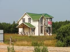 Новый дом с газом, у озера. Ярославское шоссе, 148 км. от МКАД, р-н Ярославский, площадь дома 150 кв.м., электричество 15 кВт, от агентства недвижимо...