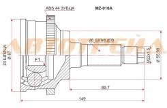 Шрус наружний MA-18A44 ( MZ-016A ) Шрус MAZDA 626/Cronos/Ford Telstar/Eunos 500 K8/KF/FP/FS 91-99 MA-18A44 ( MZ-016A ) MA-33 G037-22-510, *G037-25-50X...