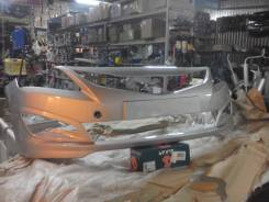 Бампер Hyundai Solaris 14 года серебристый rhm в ассортименте