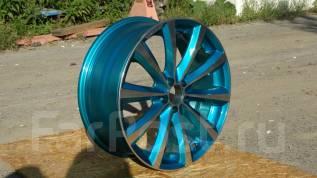 Комплект красивых колес Venerdi MDL от Cosmic+ Резина. 7.5x18 5x100.00 ET45