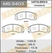 Колодки тормозные MASUMA MS3403