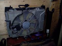 Радиатор охлаждения двигателя. Toyota: Vitz, Yaris, Echo, Carina, Platz Двигатели: 1SZFE, T