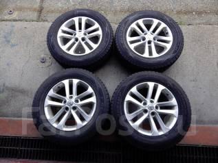 Шикарные колеса на Xtrail, диски R17, отличная зимняя резина. 7.0x17 5x114.30 ЦО 73,0мм.