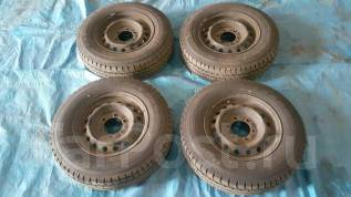Продам комплект колёс 195/80/15 LT, c Toyota Hiace. x15 6x139.70