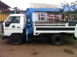 Toyota Dyna. Продам грузовик с манипулятором , 4 100 куб. см., 3 000 кг.