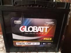 Globatt. 60 А.ч., правое крепление, производство Корея