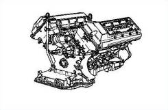 Двигатель. BMW X5, E53 Двигатель M62B44T. Под заказ
