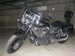 Harley-Davidson Dyna Fat Bob. 1 573 куб. см., исправен, птс, с пробегом
